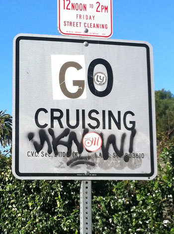 """""""No Cruising"""" Signs Being Removed. By Colin Stutz, Ledger Contributing ..."""