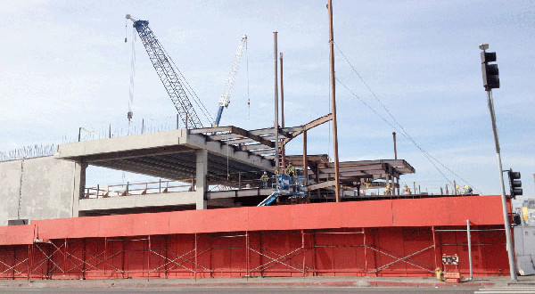 Target Construction Remains Stopped Awaiting Trial Date