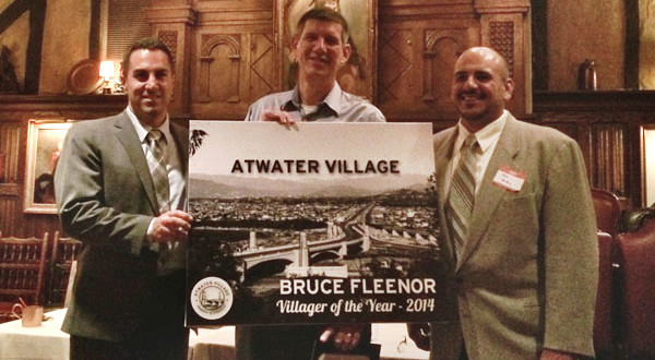 "Bruce Fleenor Named ""Atwater Villager of the Year"""