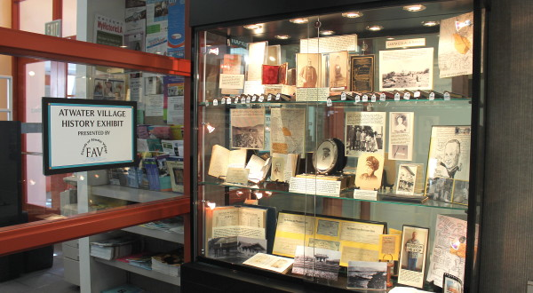 Atwater History Celebrated in Library Exhibit