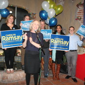 O'Grady will be actively supporting Ramsay's campaign