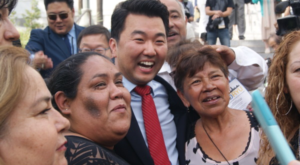 """Ryu Promises """"Neighborhoods First"""" At Swearing In"""
