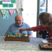 The formerly homeless man who donated $250 just celebrated his 79th birthday