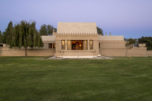 The Hollyhock House