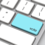 The expected cost to implement online voting for neighborhood councils is $2.3 million.