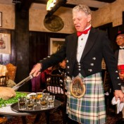 Chef Ivan Harrison is 'offal' good at making haggis.