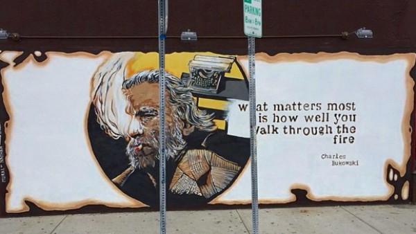 Mural Poses Legal Issue for New Bukowski's Owner