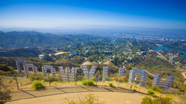 """Hollywood Sign """"Band-Aid"""" Makes for Bad Beachwood Blood"""