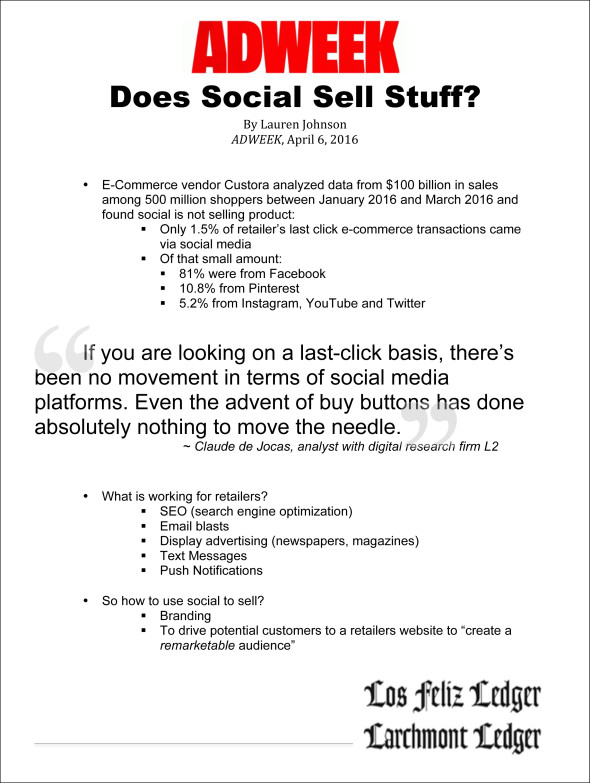 Microsoft Word - Does Social Sell Stuff.docx