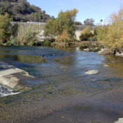 El Niño precautions earlier this year blocked public access to sections of bike paths and the river itself.