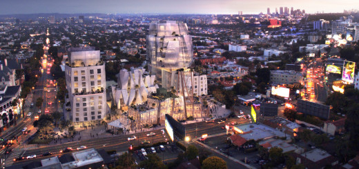 The Gehry designed project was approved this morning by the Los Angeles City Council.