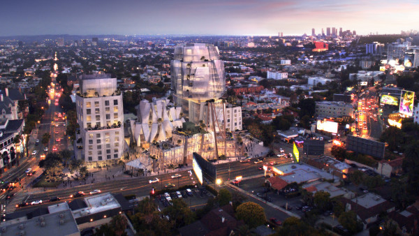 Gehry Design for Sunset Blvd. Approved by City Commission