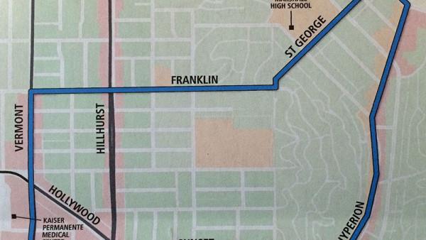 Possible DASH Changes Eliminate Service on Hillhurst Ave