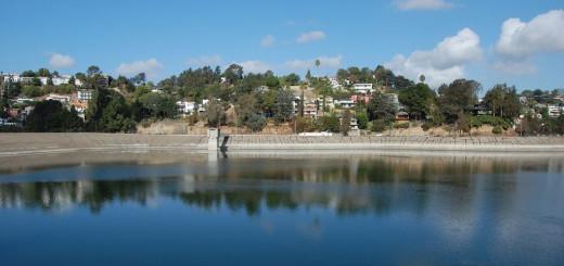 The Silver Lake Reservoir.