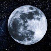 Two full moons, on January 1st and 31st, bookend the month.