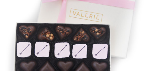 Valerie Confections offers various gift boxes of truffles for Valentine's Day. Photo by Valerie Confections