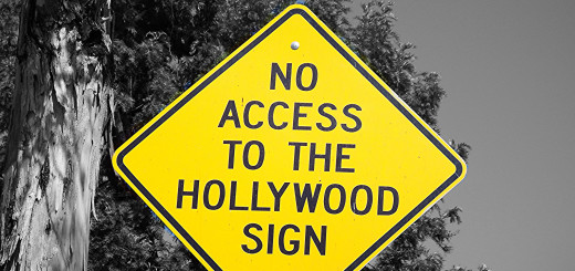 A sign posted in the Beachwood Canyon neighborhood, where residents claim Hollywood sign tourism has created quality of life and safety concerns. Photo: ConstantinAB // flickr: Creative Commons