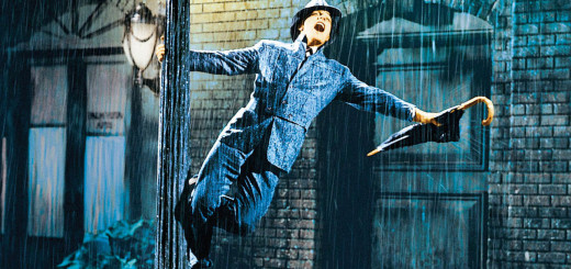 Gene Kelly performs the title action in Singin' In The Rain. Credit: MGM