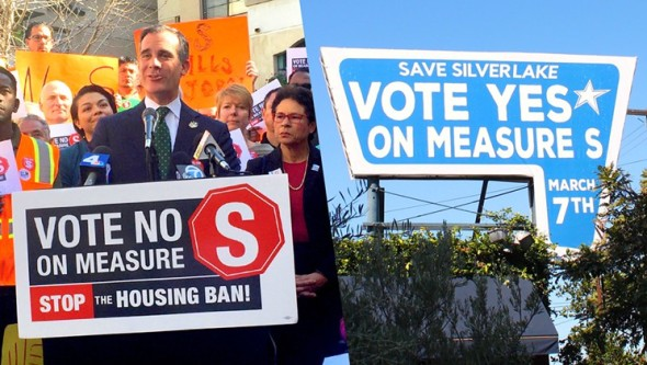The measure was very controversial and cost millions of dollars in campaigning. Photo: LA Weekly.