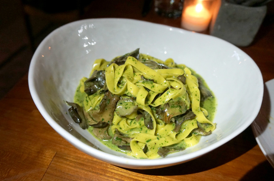 Another star of the menu is Black Kettle's pappardelle. Photo: Pat Saperstein.