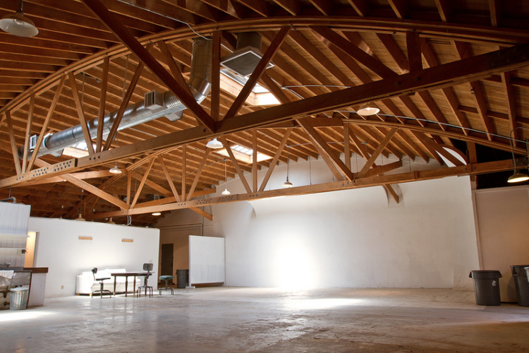 The space behind Skylight where a proposed new restaurant would go, as pictured in a 2012 real estate listing. Photo: Creative Asset Partners.