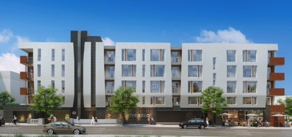 A rendering of the proposed development at Western and Franklin avenues.