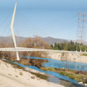The project, which was originally meant to be paid for entirely by donation, is part of the Los Angeles River Revitalization Master Plan.