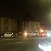Authorities sought to serve a search warrant on someone believed to be in the Los Feliz Blvd. apartment in relation to a killing of a 23-year-old man last week.
