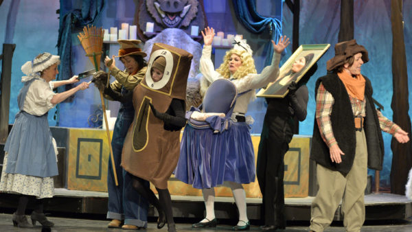 Curtain Up For Beauty and the Beast