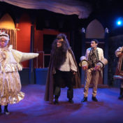 This full-blown musical in a relatively small setting hits the mark.